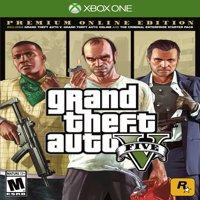 Grand Theft Auto V: Premium Online Edition, Rockstar Games, Xbox One, 710425590337