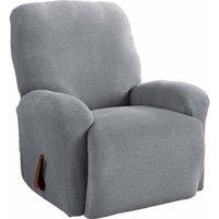 Serta Stretch Grid Slipcover, Recliner 4-Piece Box Cushion
