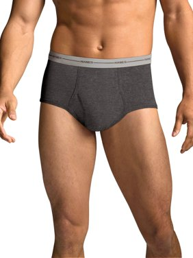 Men's FreshIQ Comfort Flex Waistband Dyed Briefs 6-Pack