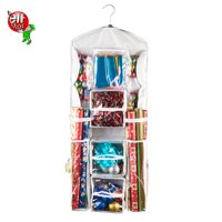 Elf Stor | Double Sided | Hanging Gift Wrap and Bag Organizer | Stores it All