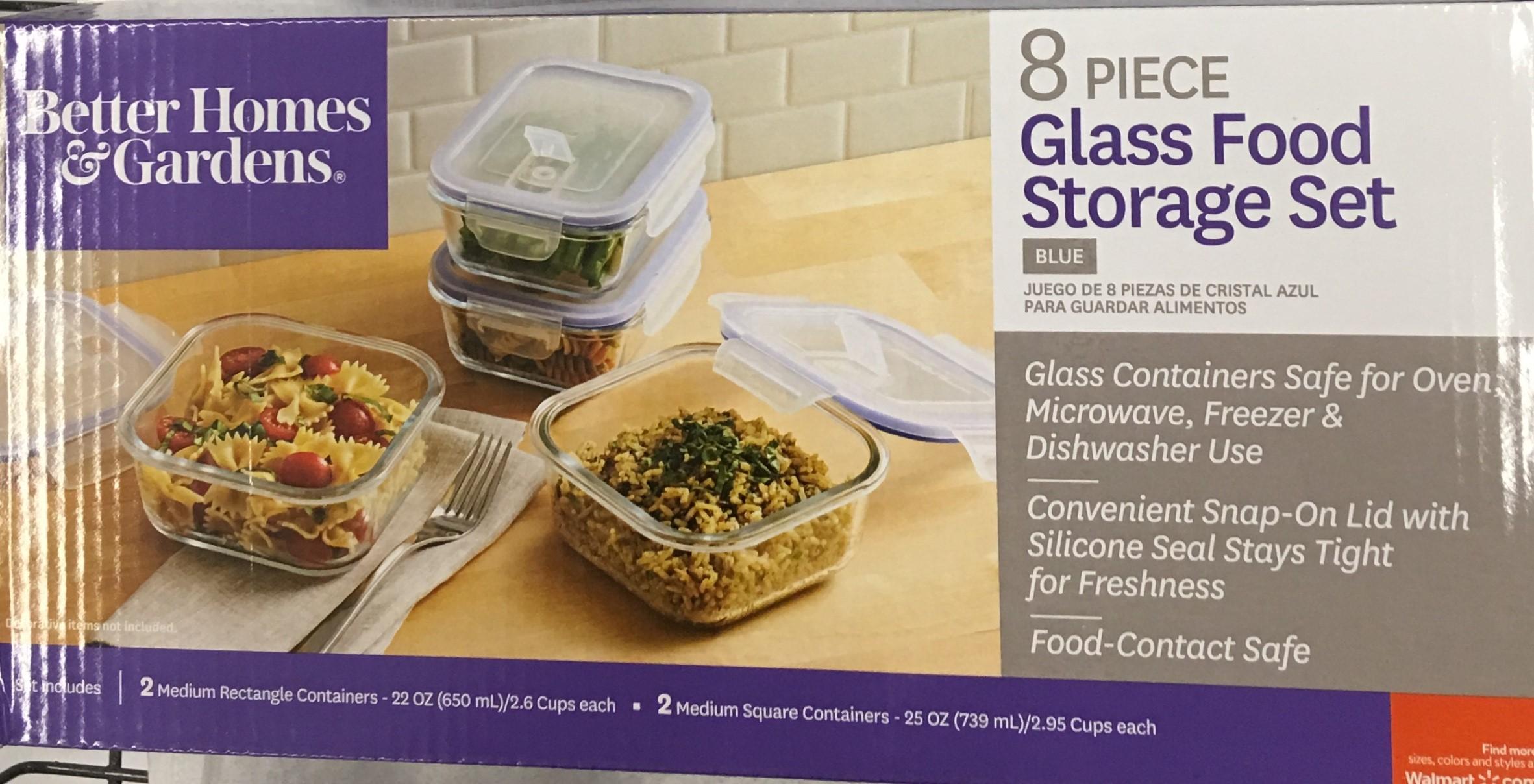 Glass Food Storage Sets