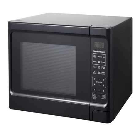 Hamilton Beach 1.1 Cu. Ft. Black Digital Microwave (Emerson 1-1 Cu Ft 1000w Microwave Oven)