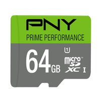 PNY 64GB Prime microSD Memory Card