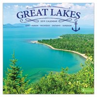 "2019 Great Lakes 12"" x 12"" January 2019-December 2019 Wall Calendar"