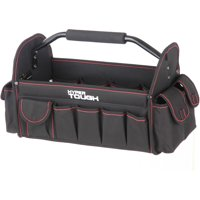 Hyper Tough TT30126D 16-Inch Open Top Tote With Soft Grip Handle