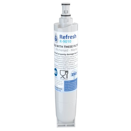 Refresh R-9010 Refrigerator Water Filter For Whirlpool 4396508 & Kenmore 9085