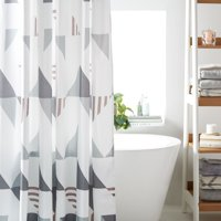 MoDRN Scandinavian Triangle Shower Curtain