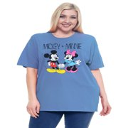 82f841639 Women's Mickey Mouse Skeleton Plus Size T-Shirt | Walmart Canada