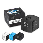 db85320eb21 Universal Travel Power Adapter with Smart High Speed 2.4A 4xUSB Wall  Charger