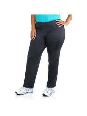 Women's Plus-Size Performance Straight Leg Pants, Available in Regular and Petite Lengths