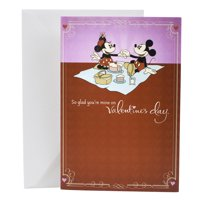 Hallmark Disney Valentine's Day Card for Significant Other (Mickey Mouse and Minnie Mouse)
