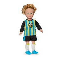 My Life As 18-inch Soccer Captain Doll - Blonde Hair