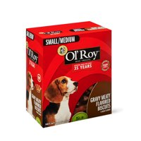 Ol' Roy Multi-Flavor Basted Dog Biscuits, Small/Medium, 5 lb