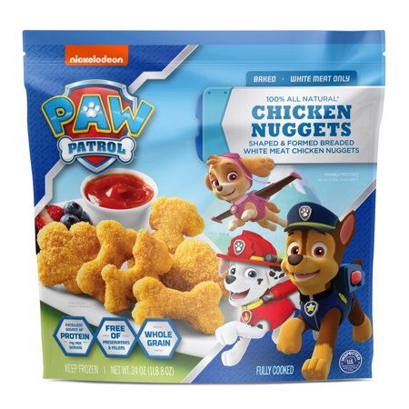 Nickelodeon Paw Patrol All Natural Chicken Nuggets Walmart