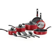 Tramontina Everyday Non-Stick Red Cookware Set, 13 Piece