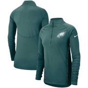 3f321b081f7f Philadelphia Eagles Nike Women s Core Half-Zip Pullover Jacket - Midnight  Green