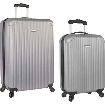 Travel Gear Hardside Spinner 2 Piece Luggage Set