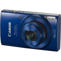 Canon PowerShot ELPH 190 IS Digital Camera (Blue)