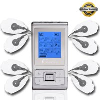 TechCare Massager Tens Unit TechCare 9 Modes 2 in 1 dual AB channels Portable Full Body Handheld Muscle Ache Relief Products Impulse Mini Massager Electronic Pulse Electrotherapy Pain ManagemenT