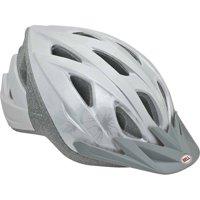 Bell Sports Bia Adult Women's Bike Helmet, Silver Sash