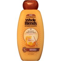 Garnier Whole Blends Honey Treasures Repairing Shampoo, 22 fl oz