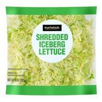 Marketside Shredded Iceberg Lettuce, 8 Oz.