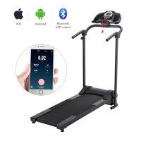 Folding Treadmill Electric Motorized Running Machine w/ APP & MP3 Player 750W