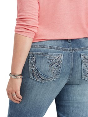 Maurices Women's Slim Boot Jean - Plus Size Embellished Back Pocket