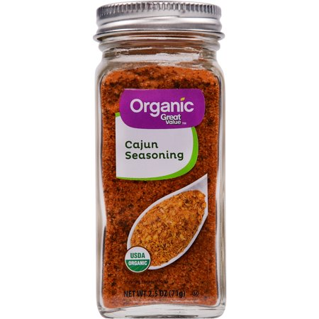 (2 Pack) Great Value Organic Cajun Seasoning, 2.5 - Hot Cajun Seasoning