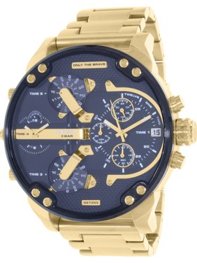 Diesel Men's Mr. Daddy 2.0 Gold-Tone Stainless Steel Watch