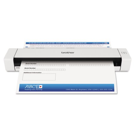 X4500 Scanner (Brother DS620 Mobile Scanner, 600 x 600 dpi )