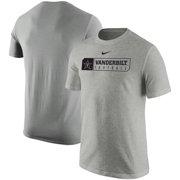 eda424c69b2d68 Vanderbilt Commodores Nike Sport Drop T-Shirt - Heathered Gray