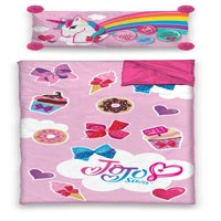 JoJo Siwa Slumber Sleeping Bag with BONUS Pillow