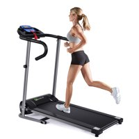 Deals on Goplus 1100W Folding Treadmill Electric Fitness Machine