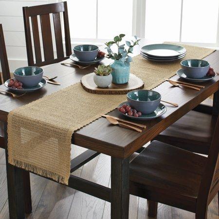 Better Homes and Gardens Table Runner, Natural - Walmart.com