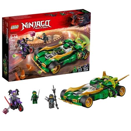 LEGO Ninjago Ninja Nightcrawler 70641 Building Set (552 - The Blue Ninjago