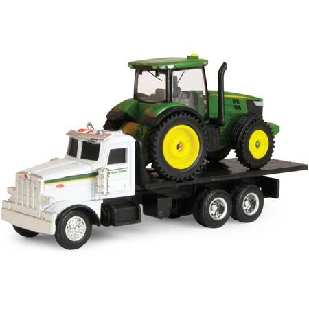 ERTL John Deere Dealer Truck with 7R Tractor (Ertl Toy Tractors)