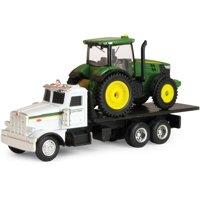 ERTL John Deere Dealer Truck with 7R Tractor