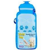 Third Shift Thirsty Dog Water Bottle Dog Bottle, Multicolor