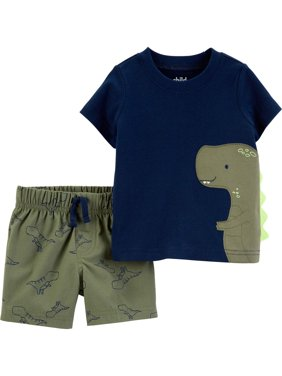 Short Sleeve T-Shirt and Shorts Set, 2 pc set (Toddler Boys)