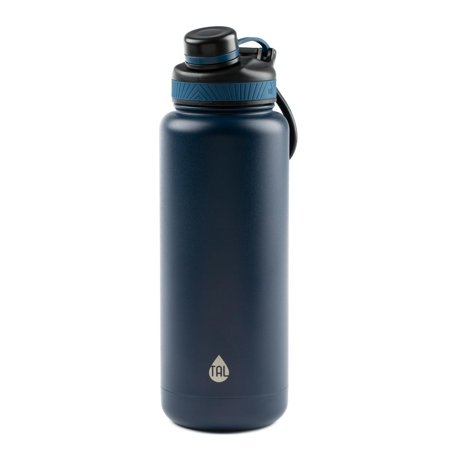 Football Water Bottle (Tal 40 Ounce Double Wall Vacuum Insulated Stainless Steel Ranger Pro Water Bottle,)