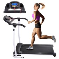 1100W Folding Electric Treadmill Motorized Power Running Machine Indoor Jogging Gym Exercise Fitness Color Opt