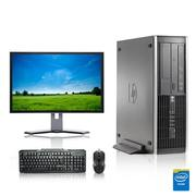 """Refurbished - HP DC Desktop Computer 2.8 GHz Core i7 Tower PC, 6GB, 500GB HDD, Windows 7 x64, 17"""" Monitor , USB Mouse & Keyboard"""