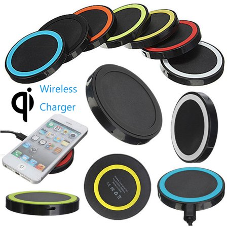 Universal Qi Wireless Charger Dock Charging Pad Mobile Phone Adapter (Pad Adapter)