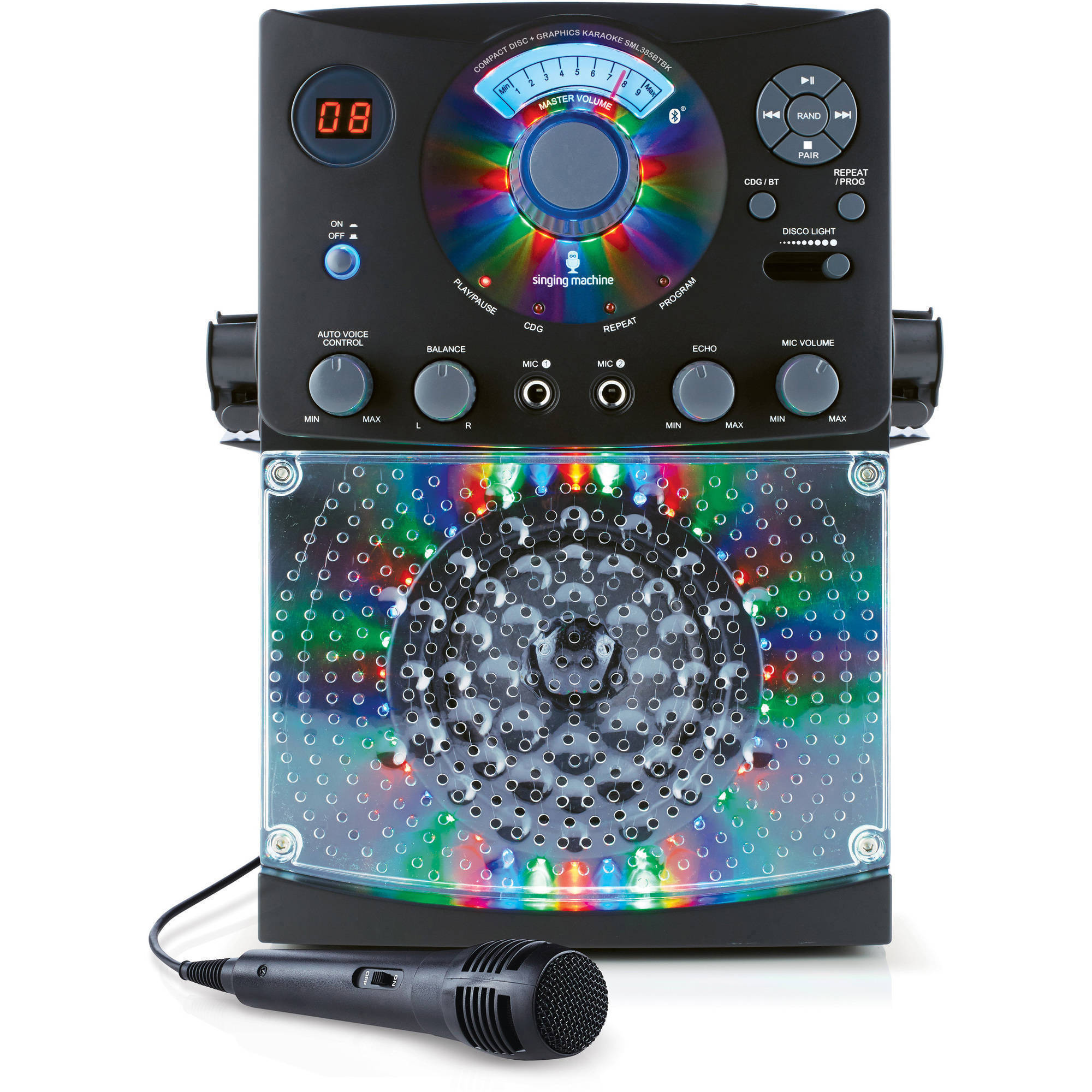 disco karaoke machine