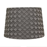 Better Homes and Gardens Gray Pleat Shade