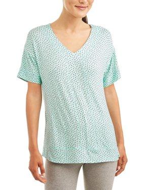Women's and Women's Plus Reglan Sleeve T-Shirt