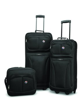 American Tourister Brewster 3 Piece Wheeled Softside Luggage Set
