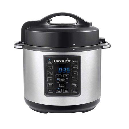 Crock Pot 6 Qt 8 In 1 Multi Use Express Crock Programmable Slow