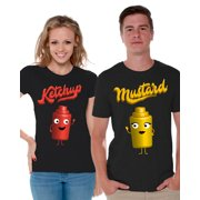42c4b7896943 Awkward Styles Matching Couple Shirts Valentine's Day Collection Couple T- Shirts Gifts for Boyfriend Girlfriend